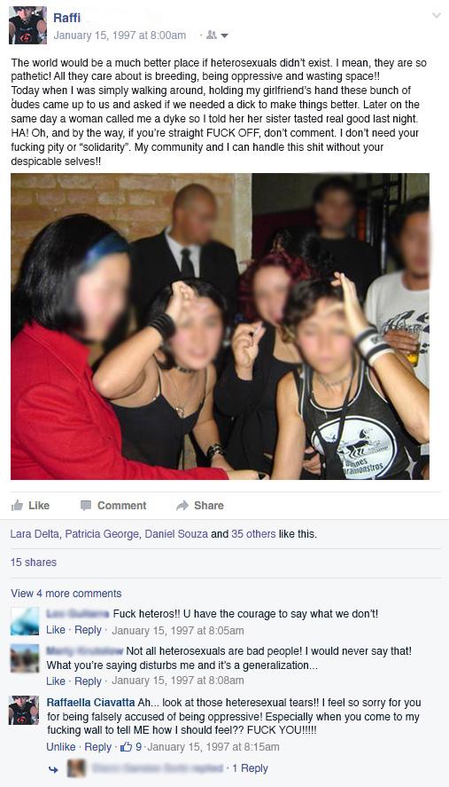 Pity sex myspace comment